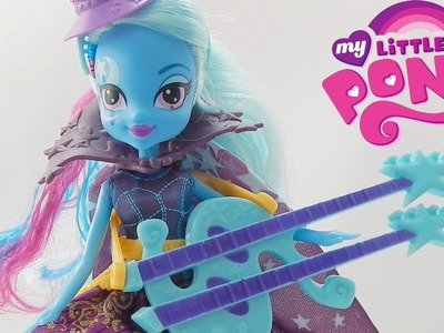 Rainbow Rocks Trixie Lulamoon Equestria Girl Doll Toy Review