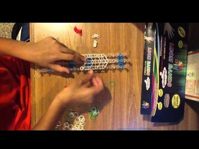 Ralts Rainbow Loom Pokemon Charm Part 1