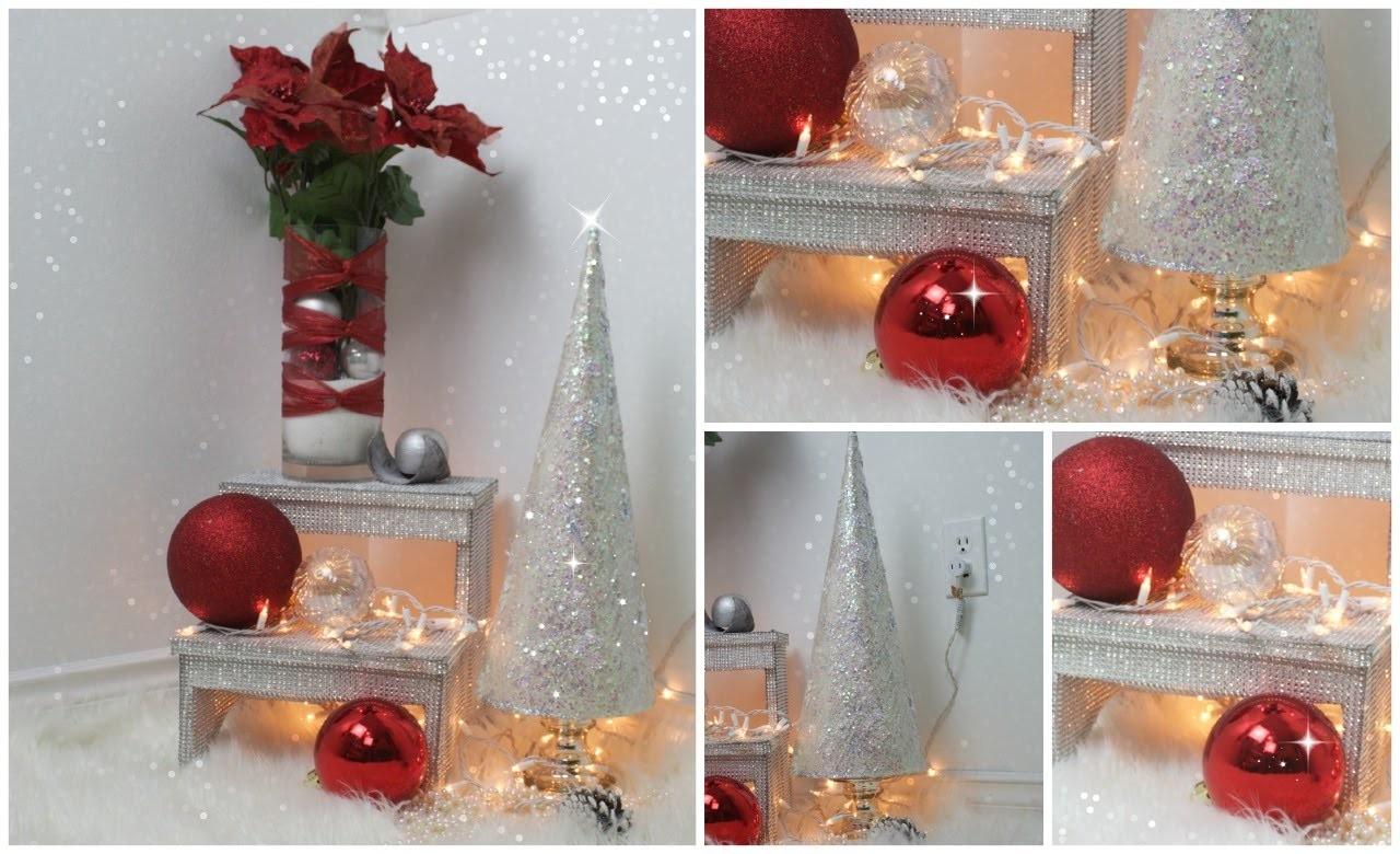 Super facil y economica decoracion para Navidad, 2do dia ...