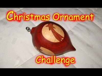 Wood Inlay Ornament - Christmas Ornament Woodturning Challenge. 2. Entry