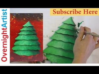 Amazing 3D Christmas Tree Craft Easy