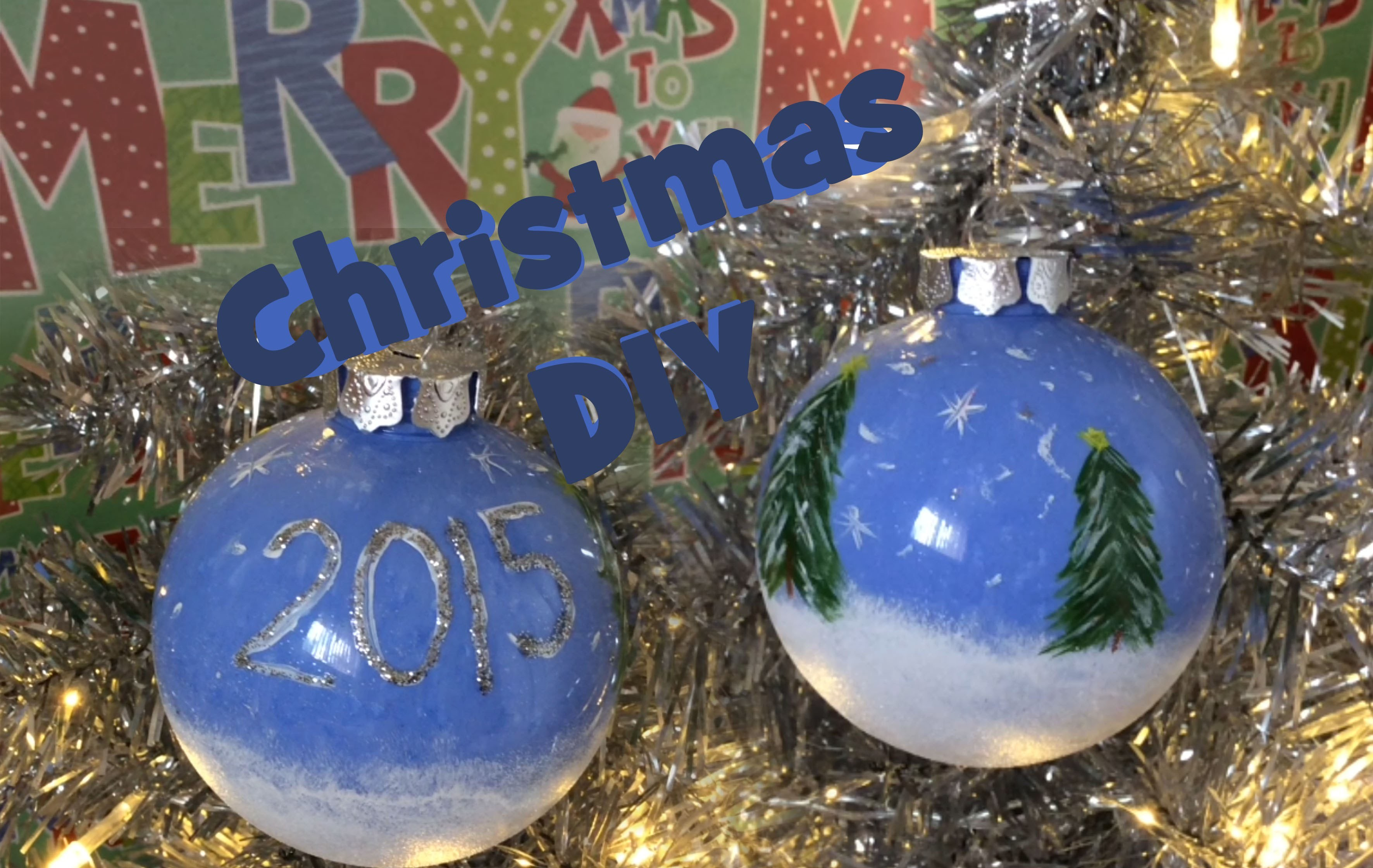 Christmas Decoration DIY 2015