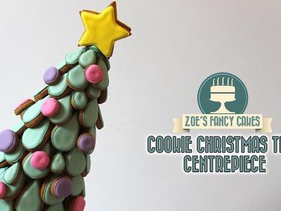 Christmas tree cookie Centrepiece