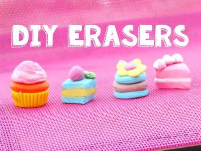 DIY Cake Erasers