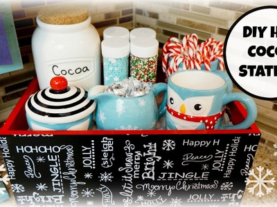 DIY: Create a Hot Cocoa Station