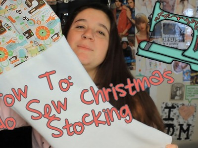 DIY No Sew Christmas Stocking (& an apology???)