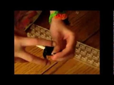 How to Make an Enderman bracelet out of rainbow loom bands