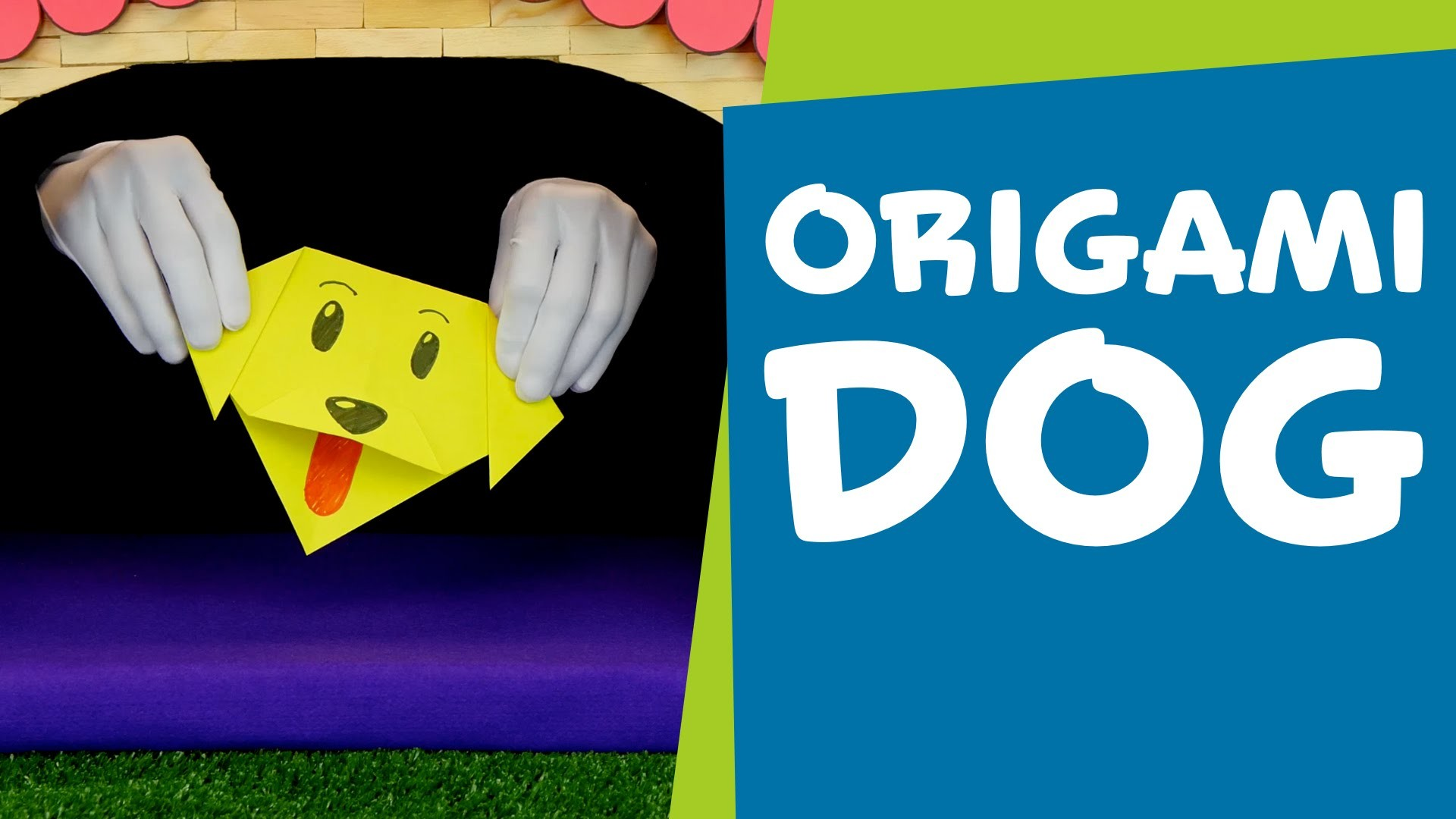 How to Make an Origami Dog | DIY Crafts for Kids | SuperHands: Ep 12