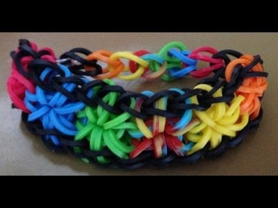 How to make rainbow loom bracelets without the kit step by step