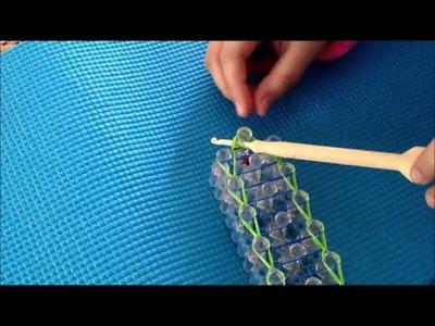 Railroad Rainbow Loom Bracelet