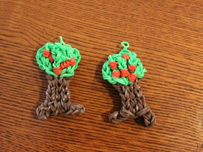 Rainbow loom apple tree