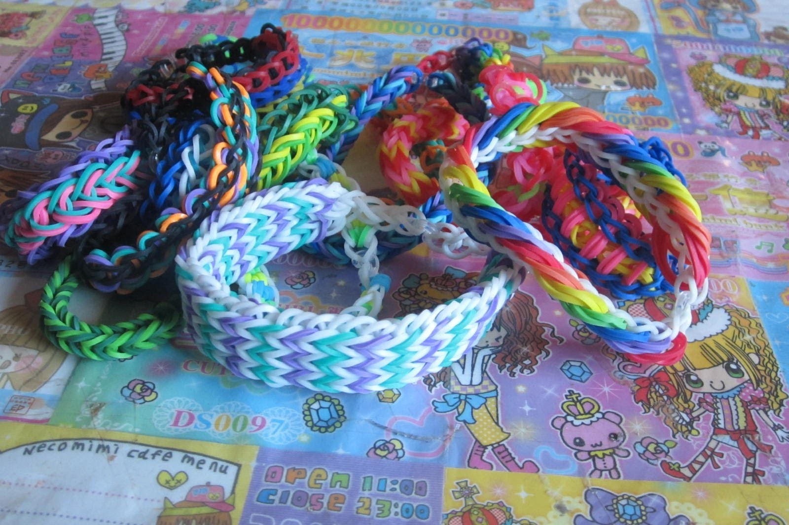 Rainbow Loom Bracelet Collection