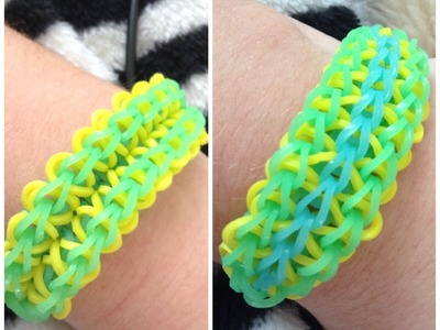 Rainbow Loom: Zig Zag Burst Bracelet MY OWN DESIGN EASY