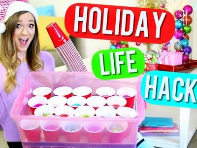 20 DIY Holiday Life Hacks!! Alisha Marie