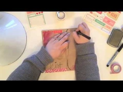 Art Journal | Valentine's Day Love List! Collab with Florence Antonette