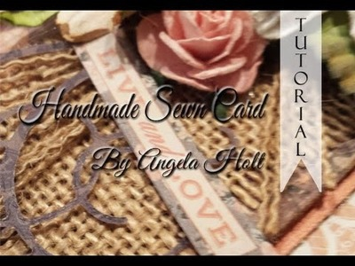 Card Tutorial with Sewing Technique