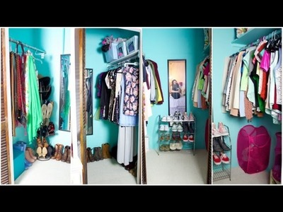 Closet Tour & Organization Tips!
