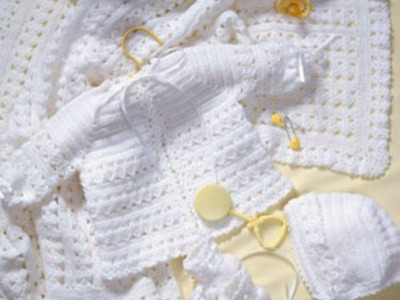 Crochet Along - Baby Layette. Bonnet  - Video 1