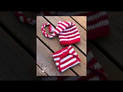 Crochet pattern for chevron scarf
