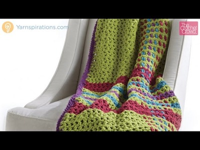 Crochet Tad O'Plaid Blanket Tutorial