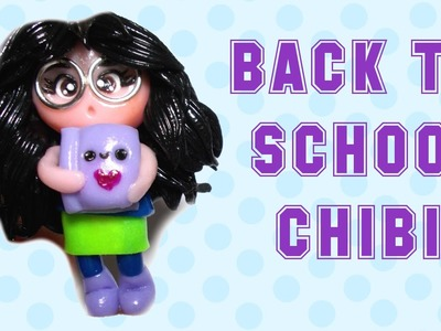 Cute Chibi with Notebook | Polymer Clay Tutorial