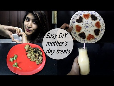 Diy easy last minute treats for mother's day +Jabong.com giveaway!