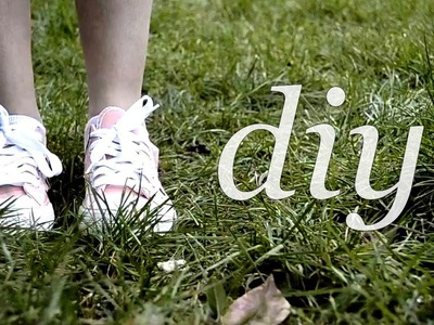 DIY | How To Decorate Shoes
