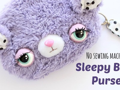 DIY Kawaii Sleepy Bear Purse - Kawaii Sewing Tutorial - 2 Cats & 1 Doll