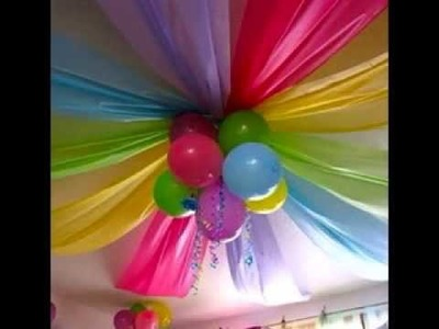 DIY Kids birthday party decoration