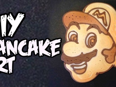 DIY Pancake Art - Man Vs Youtube #10