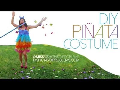 DIY Piñata Costume for under $20