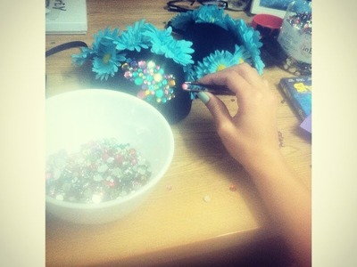 DIY: Rave. Hippie bra costume