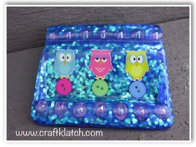 DIY Resin Owl Business Card Holder   Make Something Monday