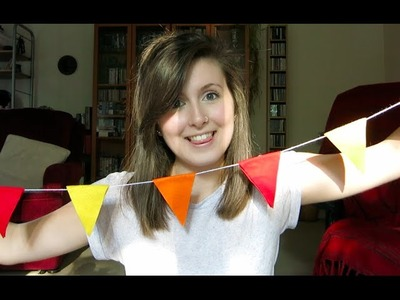 DIY: Simple No-Sew Bunting | veds 8