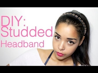 DIY: STUDDED HEADBAND