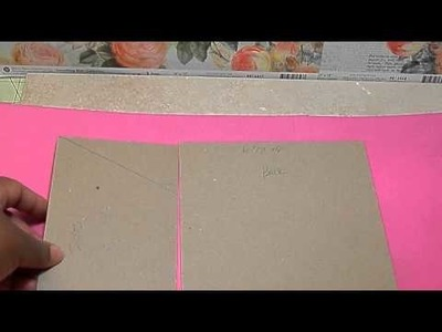 Embossing Folder Holder and Tutorial - WOC