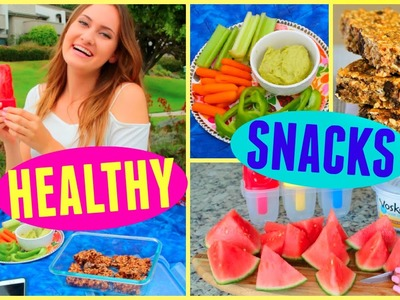 Healthy & Easy Snack Ideas for Summer!