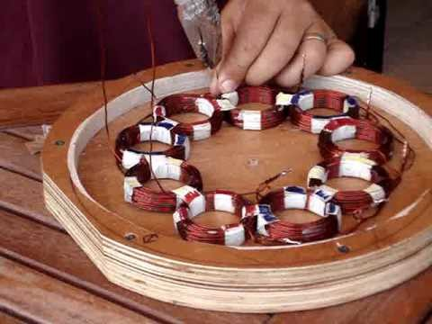 How to build a homemade stator for a P.M.A generator (wind turbine, hydroelectric)