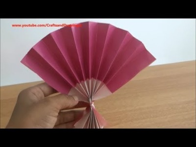 How to make a Chinese fan easily