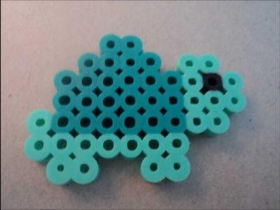 How to make a perler bead turtle
