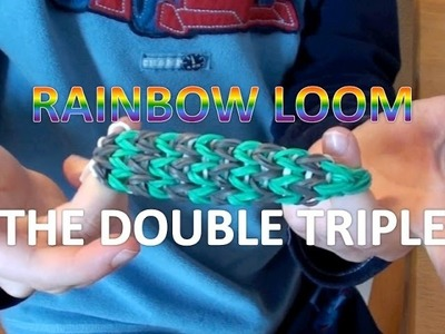 How To Make a Rainbow Loom Bracelet - The Double Triple