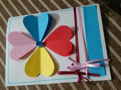 How to Make HandMade Greeting Cards - DIY - Tutorial .