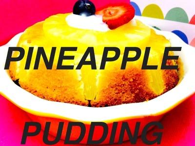How to make PINEAPPLE DOG PUDDING  DIY Dog Dessert Mug Cake by Cooking For Dogs