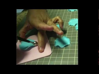 How To Make Ruffle Flowers Part 2