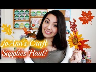 JoAnn's Fall Craft Supplies Haul!