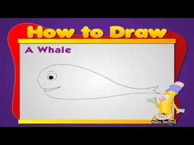 Learn to Draw Animals - Whale