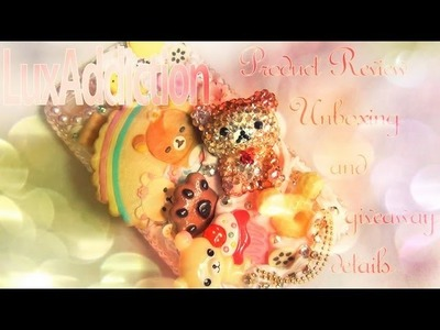 LuxAddiction Decoden Cell Phone Case Unboxing and Review ♥ + Giveaway Details!