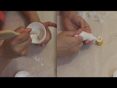 Make Fake Clay Icing. for porcelain clay DIY.
