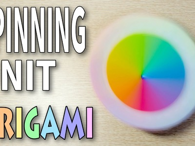 Origami Spinning Units : A top of paper