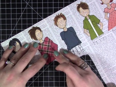 Paper Doll Layout | April 2015